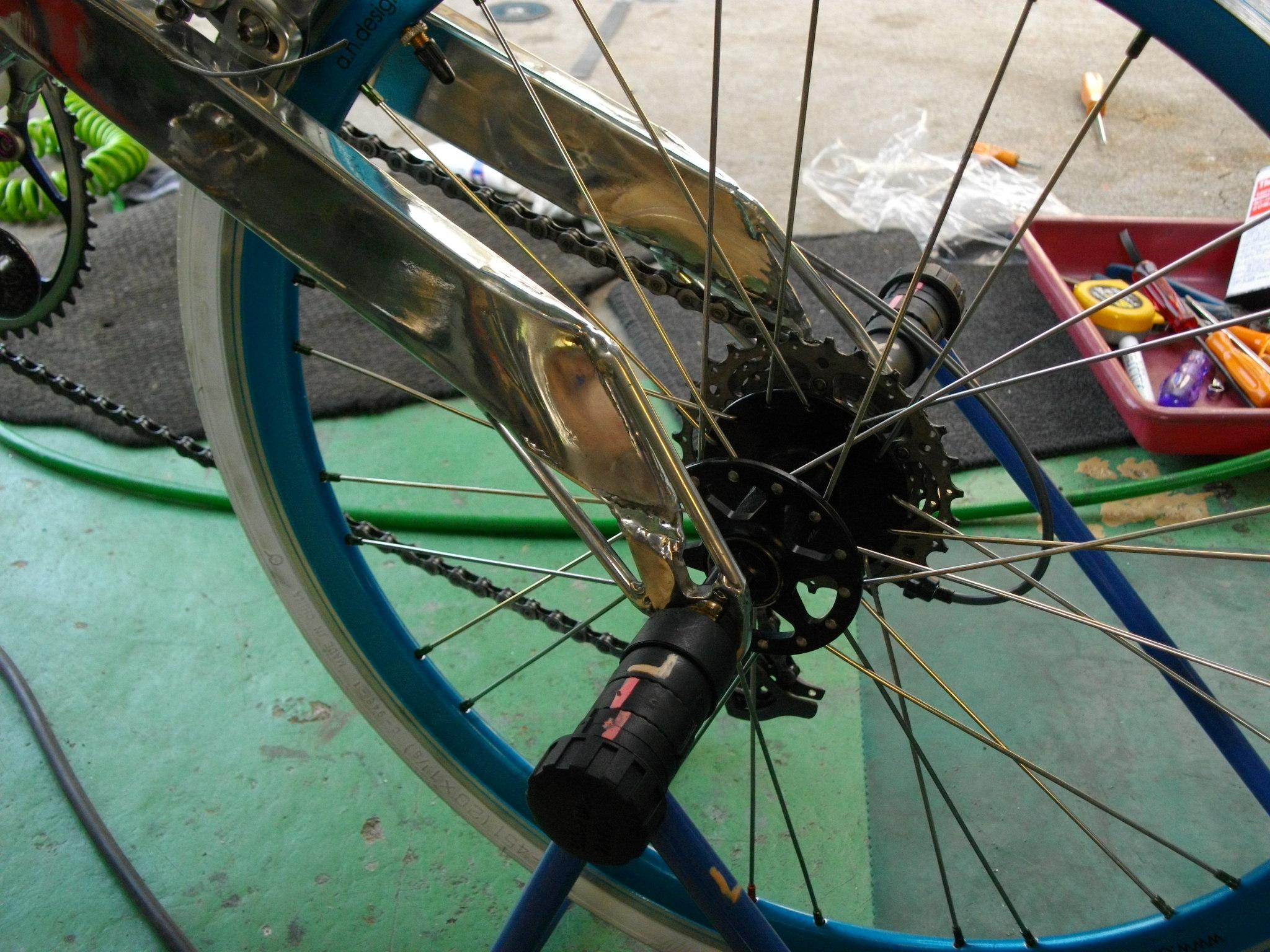 自転車の プジョー 自転車 ミニベロ : プジョー(BD-1)まずは ...