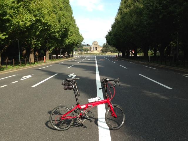 自転車の 自転車 都内 : 都内をフラフラ | 折りたたみ ...