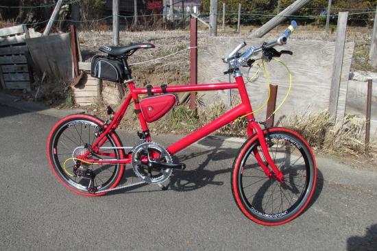 安い自転車のフレームで ...