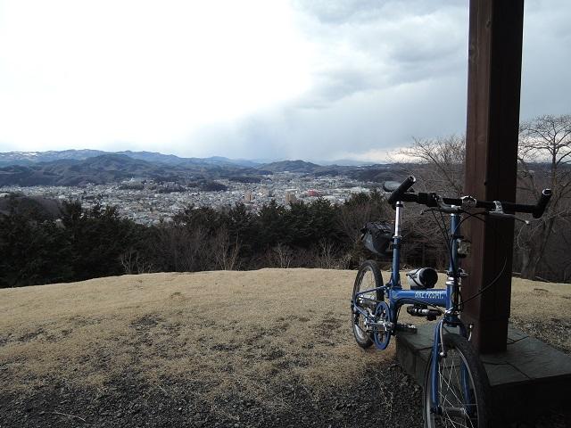 自転車散歩には遠すぎた