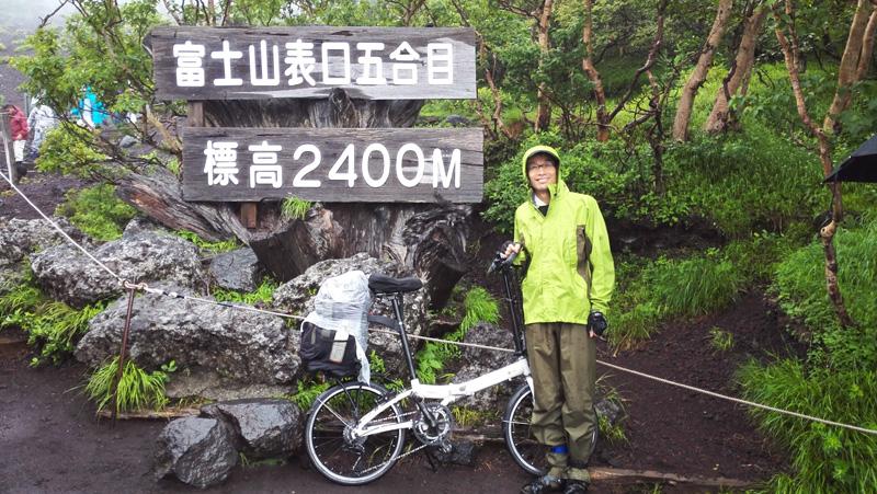 海から富士山頂上往復
