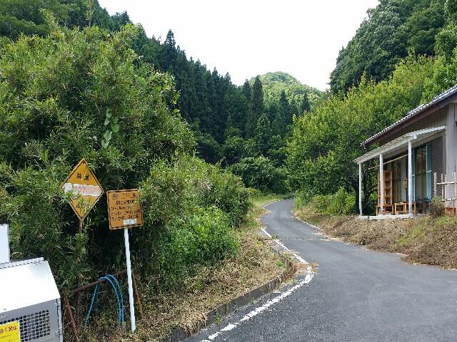 苦行ダート林道