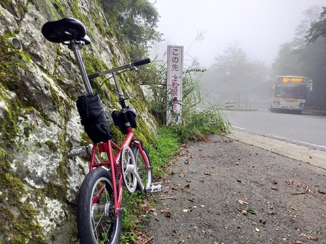 ヤビツ峠五里霧中
