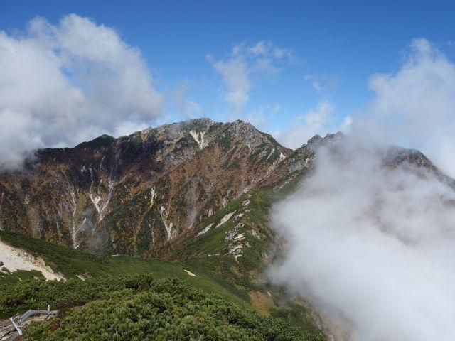 中央アルプス 越百山
