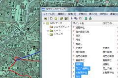 nuvi205にルートデータを転送したい