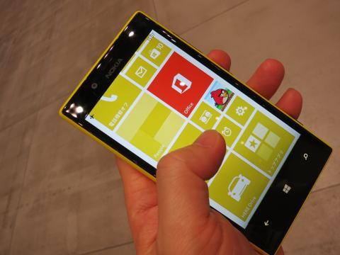 日本で売ってないWindows8 phone「Lumia 720 & 520」を触ってみた