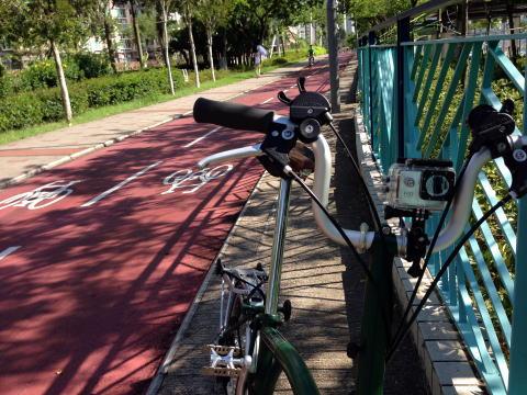 激安でFullHD動画が撮れるSJ4000を自転車につけてテスト撮影