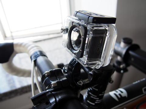 SJ4000, GoPro Hero3などで使える激安マウントを買ってみた