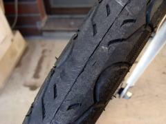 折り畳み 自転車 タイヤ 交換
