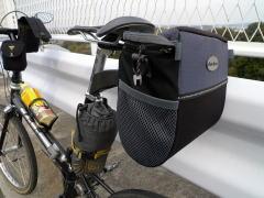 自転車バッグの取り付け方いろいろ