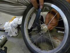 自転車の 自転車 前輪 ナット サイズ : ですが、ロックナットのサイズ ...
