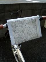 自転車用マップケースの自作