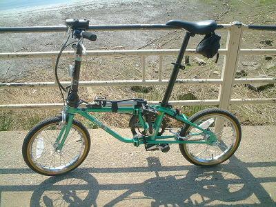 自転車の dahon 自転車 改造 : 自転車の改造っぷりが凄まじい ...