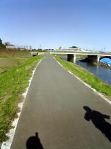 新河岸川サイクリングロード&元町家