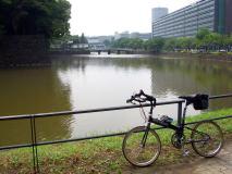 谷端川から上野・皇居へ