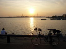 手賀沼のサイクリングコースを巡るオフ