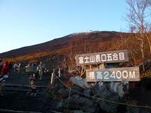 紅葉の富士山スカイラインにリベンジ