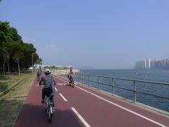 [香港] 沙田から大埔、大美督へと続くサイクリングロードを行く