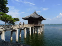 琵琶湖一周自転車の旅(西岸編)